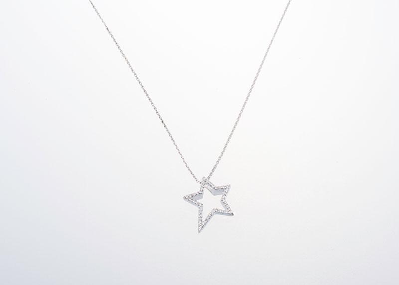 Stern Anhänger Juwelier Raths Bonn