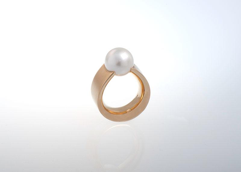 Ring Südseeperle Perlenring Juwelier Raths Bonn