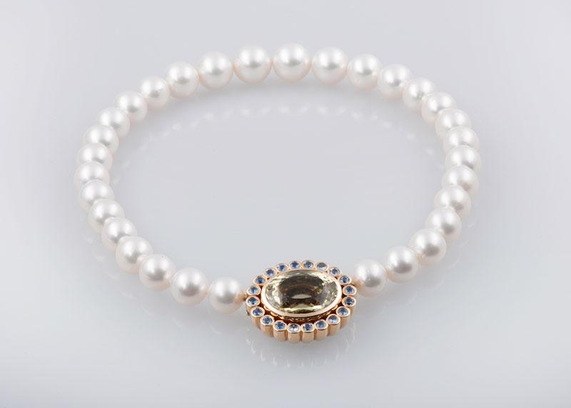 Perlkette Weiße Südseeperlen Juwelier Raths Bonn