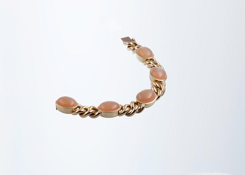 Mondstein-Armkette Juwelier Raths Bonn
